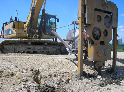 Product: Vertical Wick Drains - Installation - Layfield